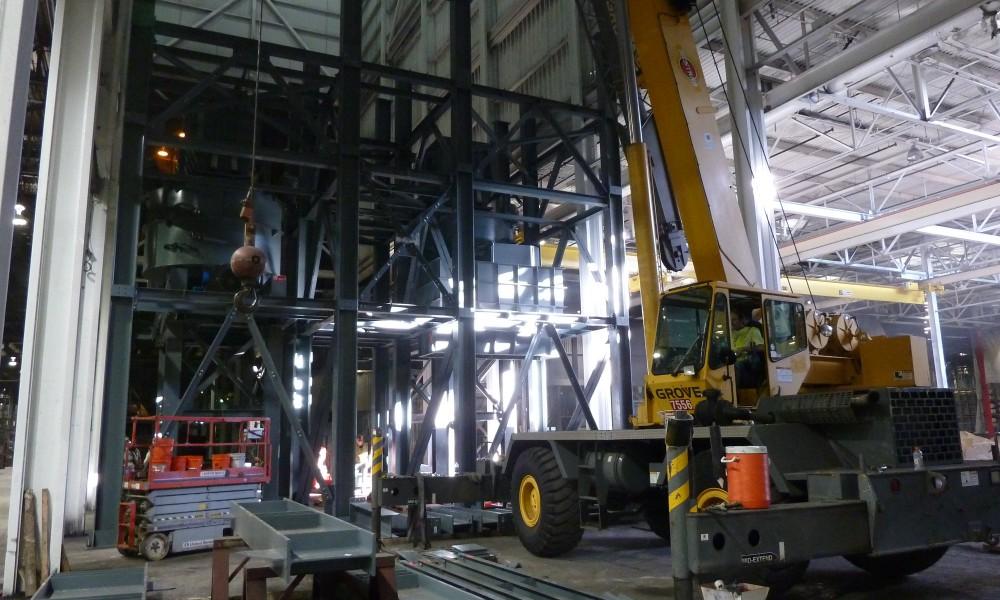 savelli steel building